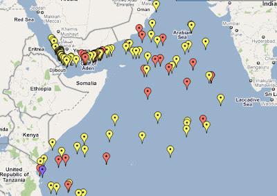 Read more about the article Piraterie am Golf von Aden: Die Fische wird es freuen! 2010 gab es vor Somalia und Jemen mehr Angriffe als jemals zuvor!