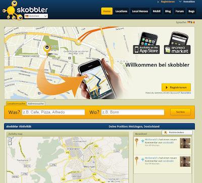 Read more about the article Skobbler mit Locationfinder und Adressensuche über den Internetbrowser