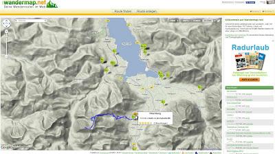 Read more about the article Finden Sie über 10.000 Wanderstrecken und Wanderrouten auf wandermap.net