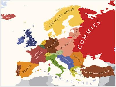 Read more about the article Yanko Tsvetkow – Europakarte der bösen und netten Vorurteile aus der Sicht von Deutschland, Großbritannien, USA, Italien und schwulen Männern  …