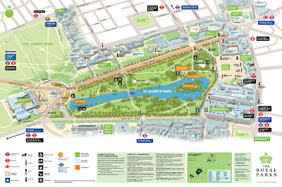 Read more about the article Parkpläne vom Hyde Park und St. Hames Park in London