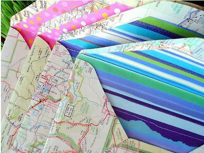 Read more about the article Tara Anderson – Wunderschöne Briefumschläge als alten Landkarten
