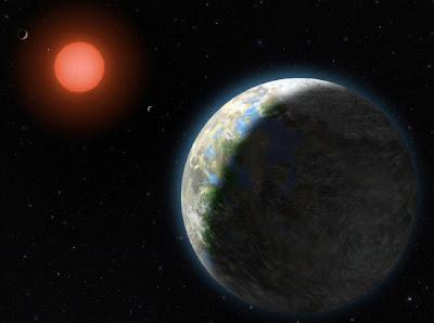 Read more about the article Gliese 581g – Forscher vermuten ersten erdähnlicher Planeten entdeckt zu haben. Die Gewissheit ob es auch stimmt, wird Jahrzehnte warten müssen!