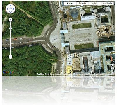 Read more about the article Verspielt! Eine Google Map mit Reflektion am Kartenrand