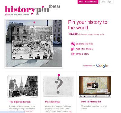 Read more about the article Entdecken Sie die Geschichte auf alten Fotos auf Historypin