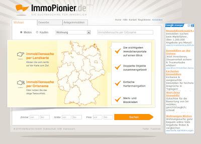 Read more about the article Mit dem ImmoPionier gleichzeitig auf mehreren Immobilienplattformen nach Angeboten suchen