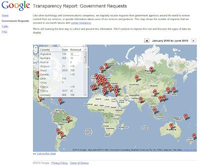 Read more about the article Deutschland stellte fast 200 Löschanträge an Google, YouTube und Blogger