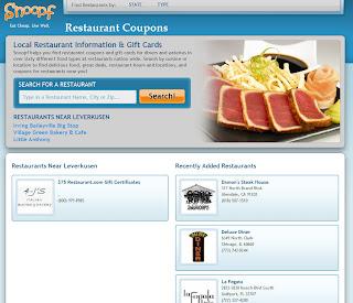 Read more about the article Snoof – Restaurantgutscheinefinder aus Amerika