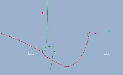 Read more about the article EXKLUSIV: Livetracker zeigt den Zusammenstoß der beiden Schiffe vor Scheveningen