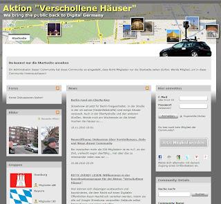 """Read more about the article Aktion """"Verschollene Häuser"""" will verpixelte Häuser wiederfinden und somit diese wieder unzensiert zeigen"""