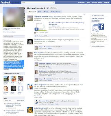 """Read more about the article """"Ungewollt verpixelt"""" Auf Facebook können sich Opfer von verpixelten Häusern in Streetview treffen und diskutieren!user in Google Streetview"""