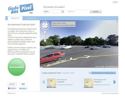 Read more about the article Kurioses Streetviewprojekt gestartet! Mit finde das Pixel sollen User verpixelte Häuser finden und es allen mitteilen