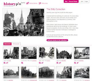 Read more about the article historypin zeigt Bombentreffer der deutschen Bombardierung auf Großbritannien im 2. Weltkrieg