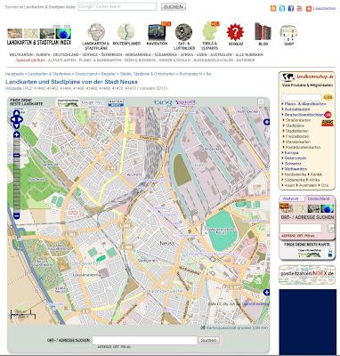 Read more about the article NEU: Jede Ortschaft in Deutschland ab sofort mit eigener Stadtplanseite im Landkarten & Stadtplan Index