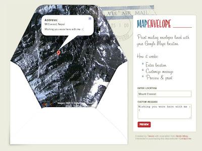 Read more about the article Mit MapEnvelope Briefumschläge mit einer Landkarte ausstatten.