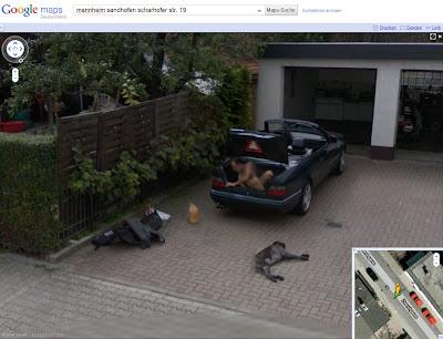 Read more about the article Google Streetview zeigt das man in Mannheim Autos noch auf natürlicherweise wäscht