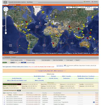 Read more about the article Die Alert Map informiert über weltweite Unglücke und Katastrophen fast Live!
