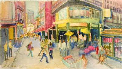 Read more about the article Google Streetview ist für Künstler eine ideale Quelle für Motive