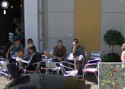 Read more about the article In Köln ist man weniger begeistert wegen Google Streetview. Zu sehen in Google Streetview!