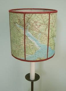 Read more about the article Lampe im Landkartendesign á la Colins