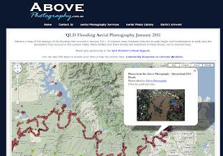 Read more about the article 6.500 Luftbilder von der Überschwemmungskatastrophe in Australien