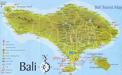 Read more about the article Eine touristische Landkarte von Bali