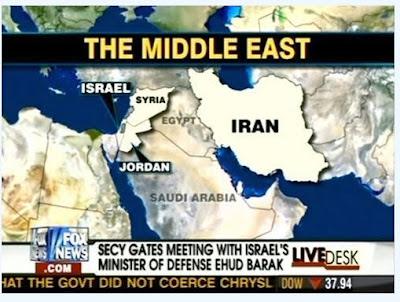 Read more about the article US-Nachrichtensender blamiert sich mit Landkarte, die angeblich Ägypten zeigt..