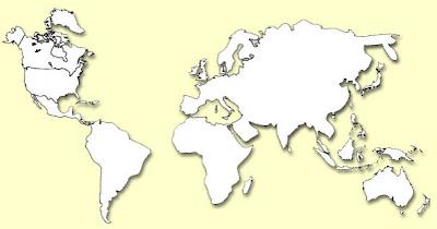 Read more about the article Kreative Weltkarte oder die Welt nach einen Asteroidenzwischenfall