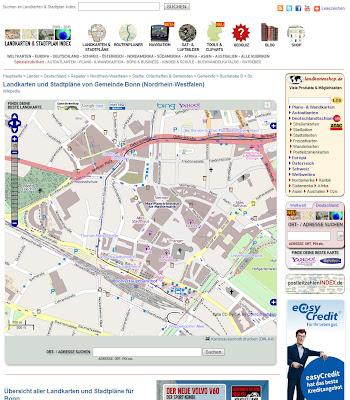 Read more about the article Landkarten und Stadtplan Index hat jetzt für 213.000 Ortschaften, Städte, Bebauungen, Objekte und Wälder in Deutschland eine eigene Stadtplanseite