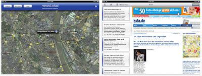 """Read more about the article iPhone & iPad App: """"newsLokal"""" zeigt lokale Nachrichten von einer oder mehreren Wunschstädten an"""