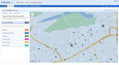 Read more about the article Britische Crimemap der Polizei zeigt Verbrechen in Großbritannien bis ins Detail