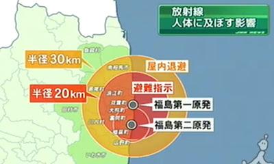 Read more about the article Im Umkreis von 30 Kilometer um Fukushima Daiichi wird jetzt evakuiert