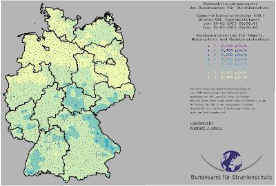 Read more about the article Panikmache in der Presse ist unbegründet! Radioaktivität ist in Deutschland aktuell niedriger als vor 10 Tagen