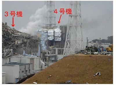 Read more about the article Yahoo Japan zeigt Fotos vom stark beschädigten Reaktor 4 im Atomkraftwerk Fukushima Daiichi