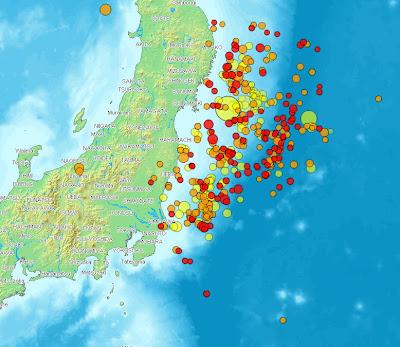 Read more about the article Übersichtskarte zeigt alle 240 Erdbeben der Magnitude 5.0 und es wackelt ohne Unterbrechnung weiter  (Stand 14:40 Uhr)