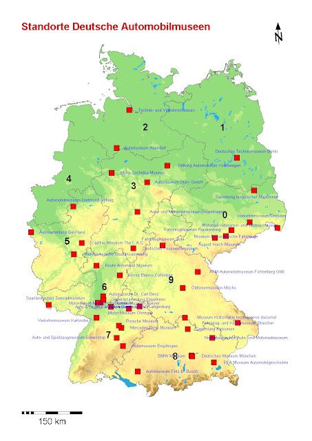 Read more about the article Deutschlandkarte: Automobilmuseum in Deutschland
