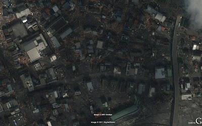 Read more about the article Aktuelle erschreckende GeoEye Satellitenbilder von Kamaishi und Ishimomaki