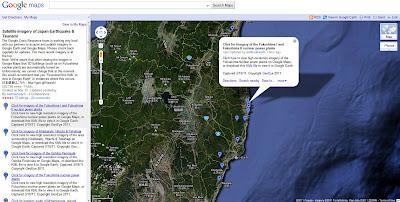 Read more about the article Google Maps zeigt auf über 30 neuen Satellitenbildern die zerstörte Ostküste von Japan