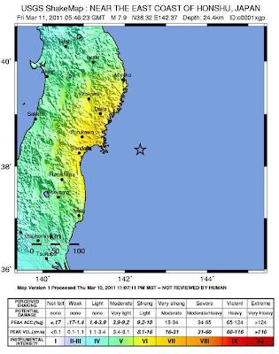 Read more about the article Fünf schwere Erdbeben mit bis zur Stärke 8.9 gab es vor der Küste Japans – 27 schwere Erdbeben seit 3 Tagen mit über 5.0 (Stand 7h25)