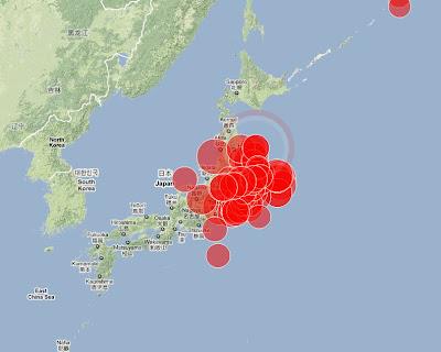 Read more about the article LIVE! Es gibt weitere Erdbeben an der Ostküste von Japan