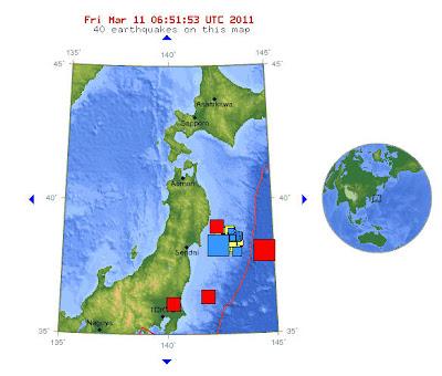 Read more about the article Erdbebenserie in Japan! Laut USGS hatte das stärke Beben heute morgen sogar Magnitude 8.9