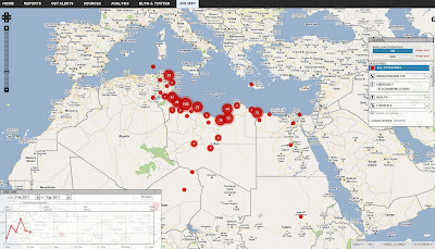 Read more about the article Interaktive Landkarte der UNO zeigt aktuelle Informationen und Links zum Bürgerkrieg in Libyien