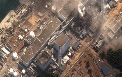 Read more about the article Einzigartiges und aktuelles Satellitenbild vom zerstörten Atomkraftwerk Fukushima Daiichi