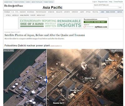 Read more about the article Spektakuläre Luftbilder von vor und nach dem Tsunami von vielen Ortschaften in Japan zeigt ABC und die New York Times