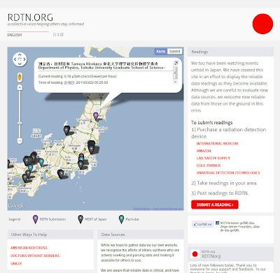 Read more about the article RDTN zeigt aktuelle private und offizielle Messwerte von Radioaktivität in ganz Japan