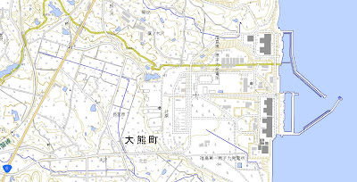 Read more about the article Topographische Karten vom Atomkraftwerk Fukushima Daiichi