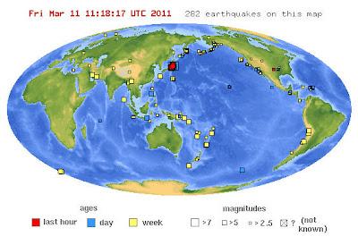 Read more about the article Die besten Informationsquellen zu Erdbeben und Tsunamiwarnungen weltweit