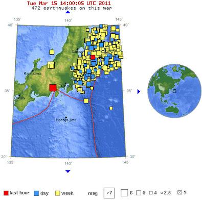 Read more about the article Weitere Erdbeben Auch heute wieder größere Erdbeben vor der Küste Japans – 2 mal sogar über 6.0