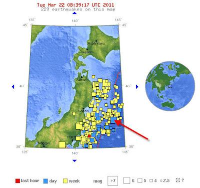 Read more about the article EIL! Wieder Starkes Erdbeben mit Magnitude 6.6 vor der Küste Japan