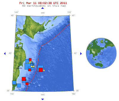 Read more about the article LIVE! USGS meldet weitere Erdbeben bei Honshu (Japan) um 6.0 Magnitude – 35 Erdbeben über 5.0 in den letzten 3 Tagen